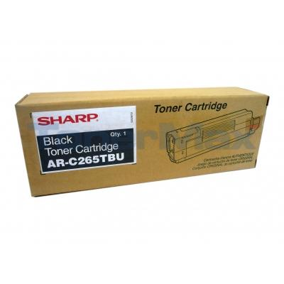 SHARP AR-C265 TONER CARTRIDGE BLACK